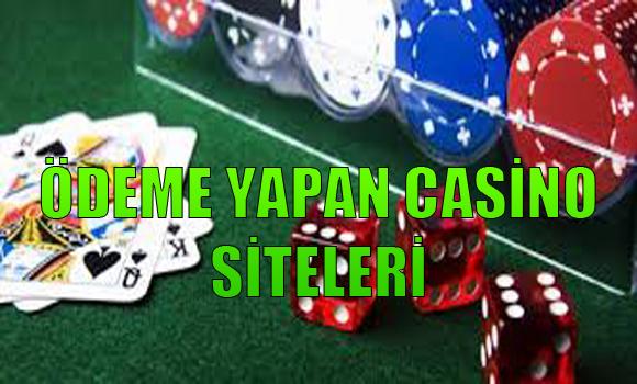 Ödeme Yapan Casino Siteleri